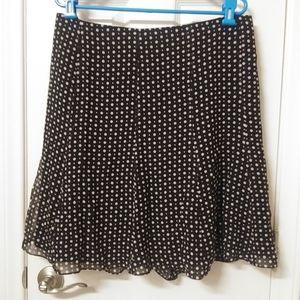 Express silk skirt NWOT